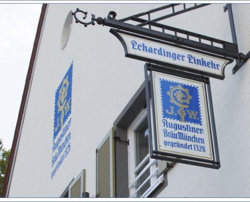 Augustiner Bräu Echardinger Einkehr Restaurant Ausleger