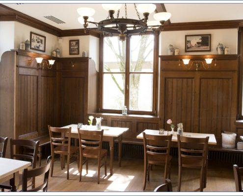 Augustiner Bräu Echardinger Einkehr Restaurant Teilansicht