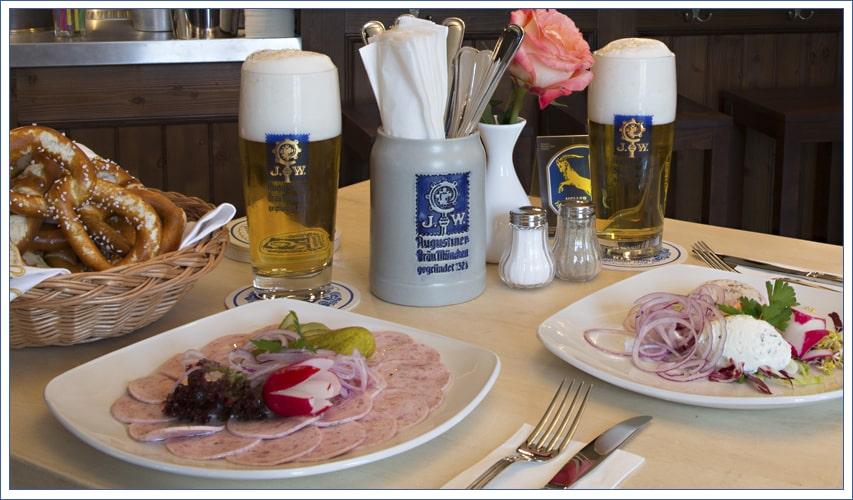 Augustiner Bräu Echardinger Einkehr Restaurant essen und trinken