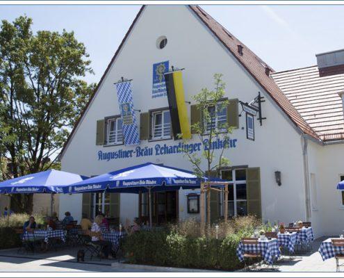 Augustiner Bräu Echardinger Einkehr Restaurant Frontansicht
