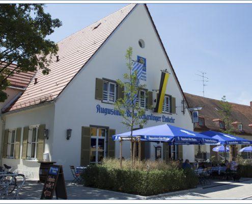 Augustiner Bräu Echardinger Einkehr Restaurant Gegenüberansicht