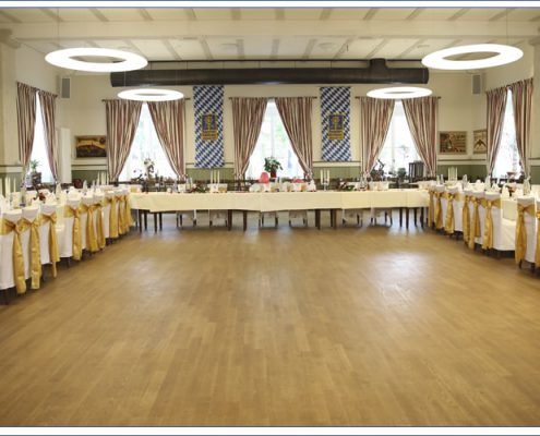 Augustiner Bräu Echardinger Einkehr Restaurant Hochzeitstafel
