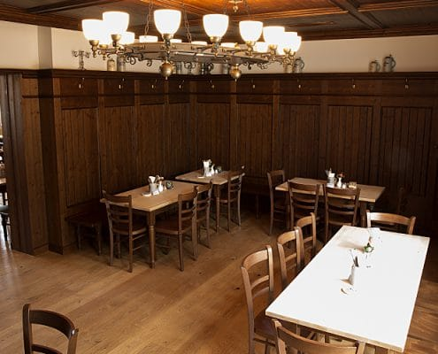 Augustiner Bräu Echardinger Einkehr Restaurant Nebenraum