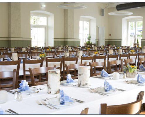 Augustiner Bräu Echardinger Einkehr Restaurant eingeckt zur Feier
